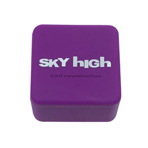 Sky High Large Square Silicone Jars