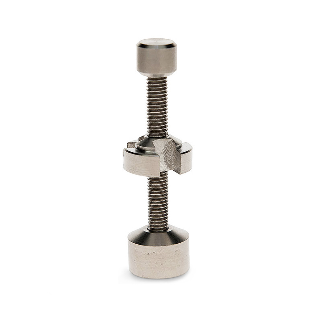 Titanium Dual Cup Adjustable Nail