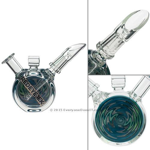 Turquoise Swirl Drum Pendant Oil Rig