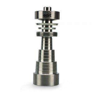 Universal Titanium Domeless Nail With Male And Female Joint