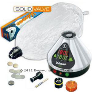 Volcano Vaporizer Digital with Solid Valve Set 220v