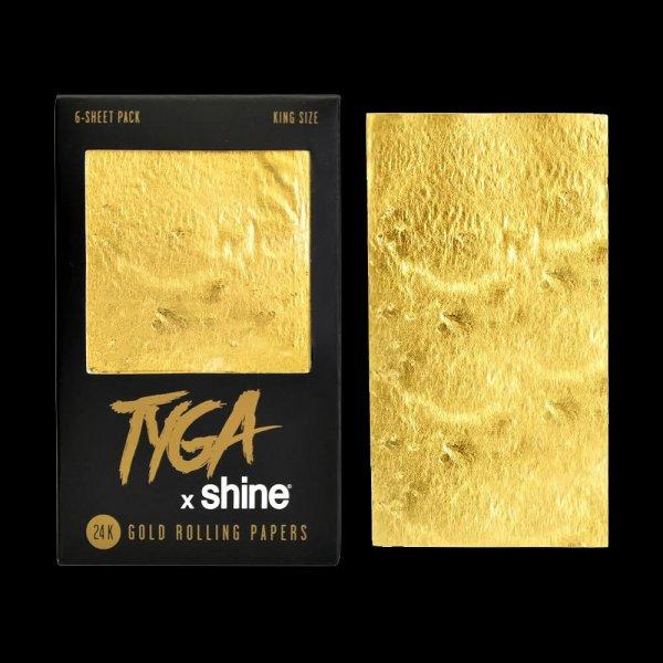 24K Tyga Gold King Size - 6 pack