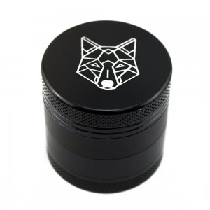 """4 Part 1.5"""" Pocket Aluminium Grinder with Sifter"""