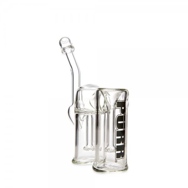 Full Double Chamber Bubbler