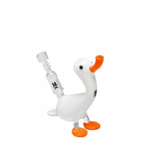 Lil White Duck Dab Rig
