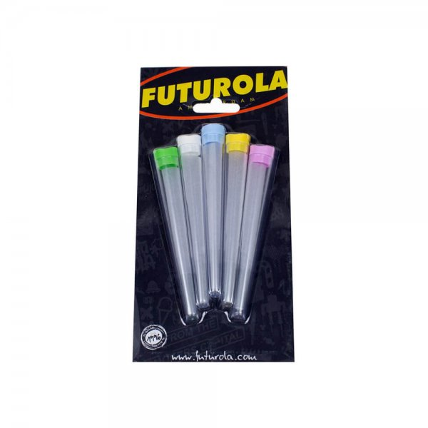 Pack of 5 Storage Tubes