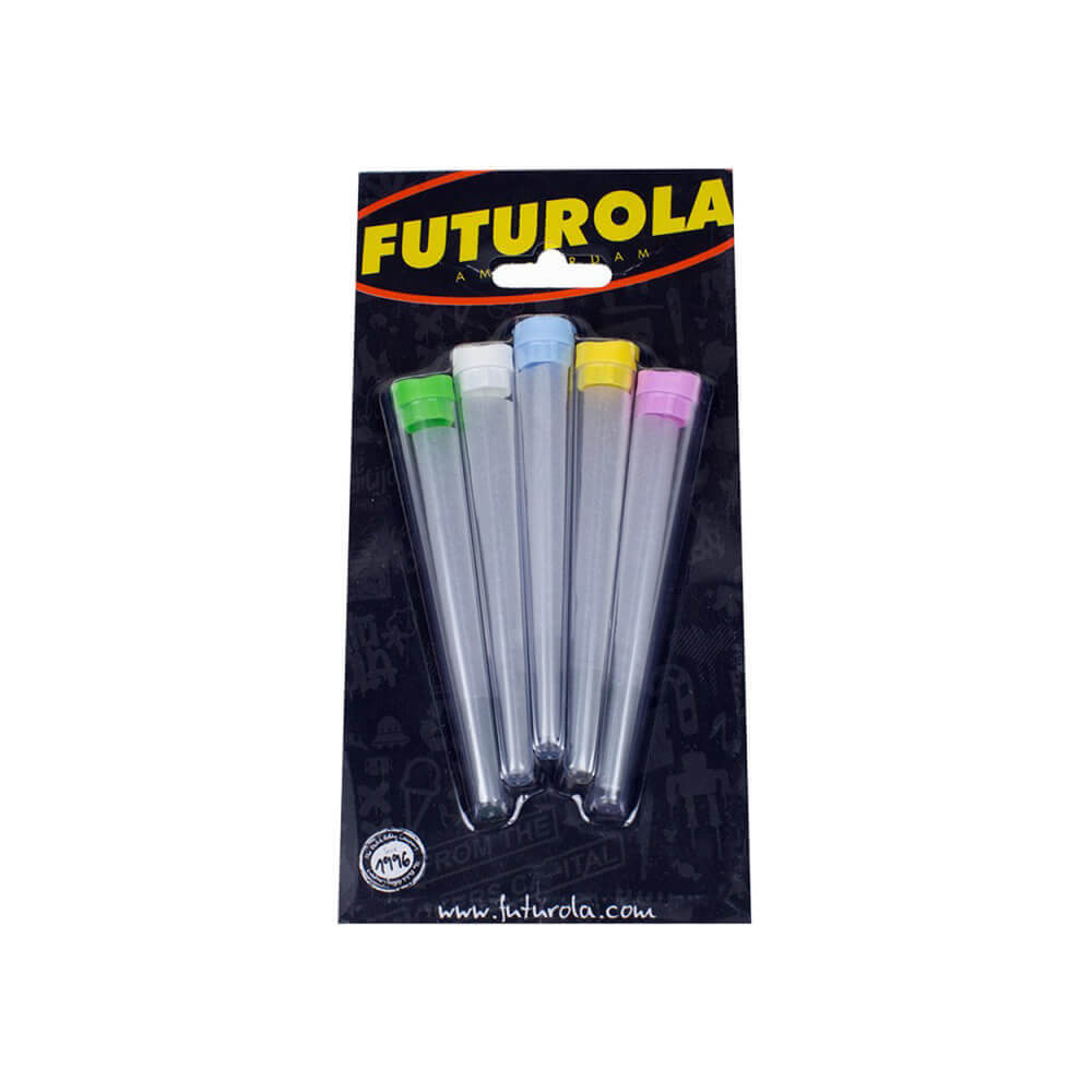 Pack of 5 Storage Tubes