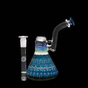 Sidecar Bubbler with Spin Trail and Rake design and 6 arm tree downstem