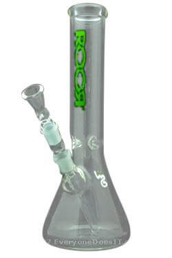Custom Little Sista 5mm Green Goblin Bong
