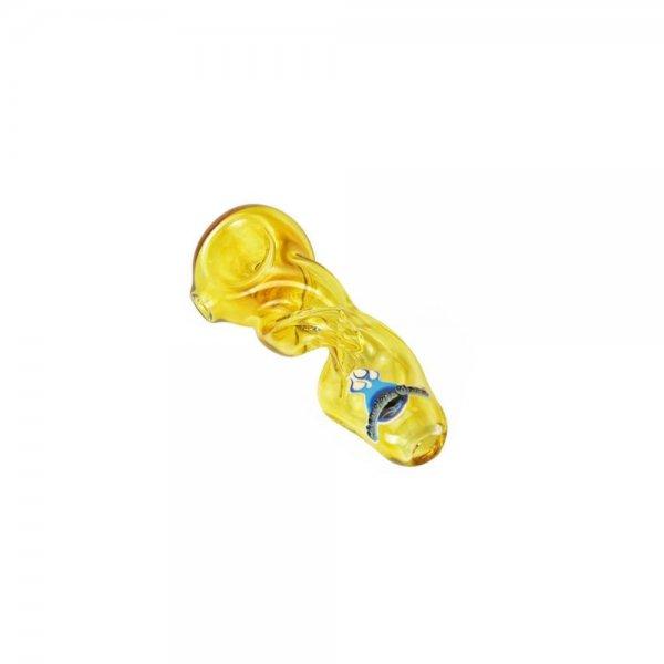 Tornado Fumed Glass Spoon Pipe