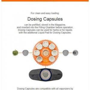Volcano Magazine with 8 Dosing Capsules